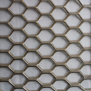 Hexagonal Expanded Metal Screen